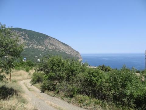продам участок в Крыму Гурзуф Артек