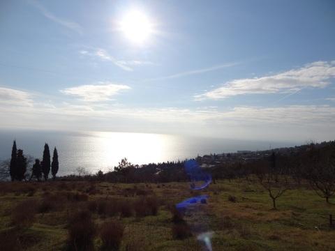 Продам земельный участок с видом на море